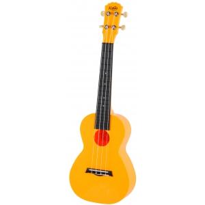Korala PUC 20 OR ukulele koncertowe poliwęglan, kolor pomarańczowy