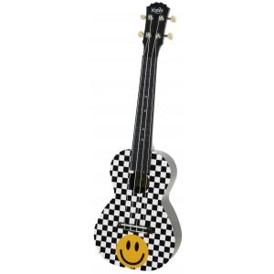 Korala PUC 30-014 ukulele koncertowe Yellow Smiley Check