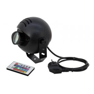 Eurolite LED PST-9W TCL IR Spot - oświetlacz kuli z pilotem