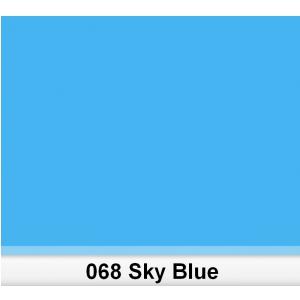 Lee 068 Sky Blue filtr barwny folia - arkusz 50 x 60 cm