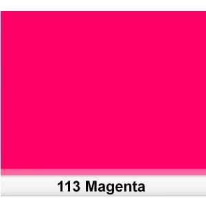 Lee 113 Magenta filtr barwny folia - arkusz 50 x 60 cm