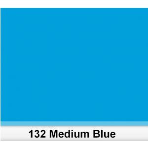 Lee 132 Medium Blue filtr barwny folia - arkusz 50 x 60 cm