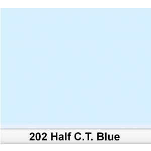 Lee 202 Half C.T.Blue 1/2 filtr barwny folia - arkusz 50 x 60 cm