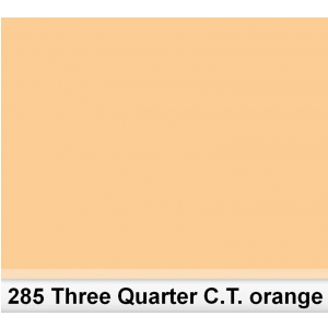 Lee 285 Tree Quarter C.T.Orange 3/4 filtr barwny folia -  (...)