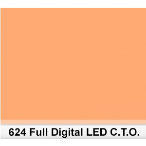 Lee 624 Full Digital LED CTO filtr barwny folia - arkusz  (...)