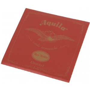 Aquila AQ 85U struny do ukulele koncertowego G-C-E-A, Red