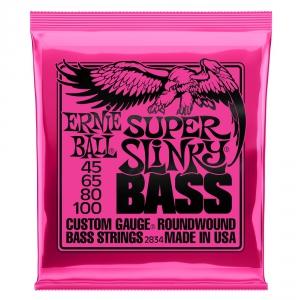 Ernie Ball 2834 NC Super Slinky Bass struny do gitary  (...)