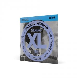 D′Addario EXL 116 struny do gitary elektrycznej 11-52