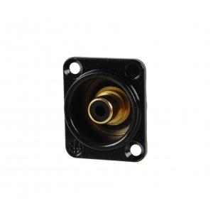 Neutrik NF2D-B-0 gniazdo cinch (RCA) czarne