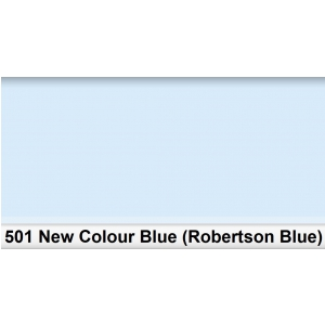 Lee 501 New Colour Blue (Robertson Blue) filtr barwny  (...)