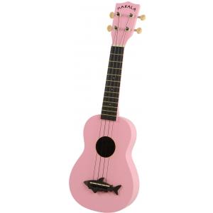 Kala Makala Shark SS-PNK ukulele sopranowe, różowe