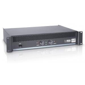 LD Systems DJ 800 wzmacniacz mocy 2x400W/4
