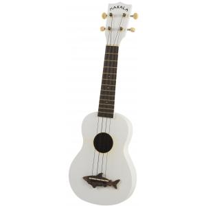 Kala Makala Shark SS-WHT ukulele sopranowe, białe