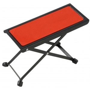BSX 536504 podnóżek dla gitarzysty czerwony