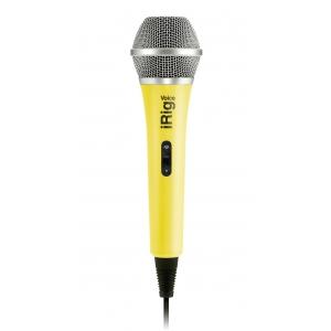 IK Multimedia iRig Voice Yellow mikrofon do iPod Touch, iPhone, iPad, Mac i urządzeń z systemem Android (żółty)