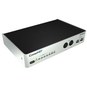 iConnectivity iConnectMIDI4+ Lightning interfejs MIDI do iPad, iPod, iPhone, Mac/PC (USB i Lightning)