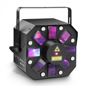 Cameo STORM - 3 w 1 efekt świetlny, 5 x 3W RGBAW flower  (...)