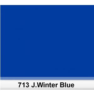 Lee 713 J.Winter Blue filtr barwny folia - arkusz 50 x 60 cm