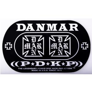 Danmar 210DK Iron Cross Powerdisc łatka pod bijak (podwójna)