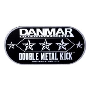 Danmar 210MKD Metal Kick łatka pod bijak (podwójna)