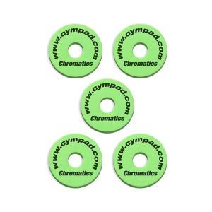 Cympad Chromatic 40/15mm Set Green podkładki do talerzy  (...)