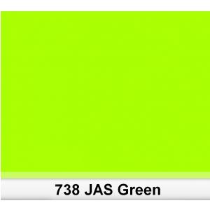 Lee 738 JAS Green filtr barwny folia - arkusz 50 x 60 cm
