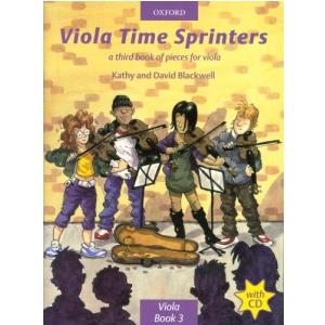 PWM Blackwell Kathy, David - Viola time sprinters. A third book of pieces for viola (utwory na altówkę + CD)