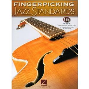 PWM Różni - Fingerpicking Jazz Standards. 15 jazzowych standardów zaaranżowanych na gitarę solo - WYPRZEDAŻ