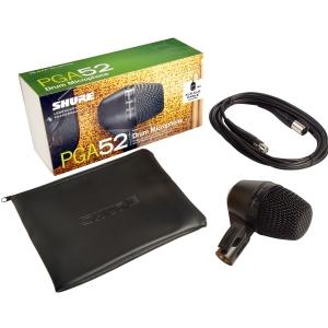 Shure PGA52 XLR mikrofon dynamiczny