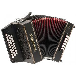 Serenellini 273 Deluxe 27/3/3  12/3/2  akordeon diatoniczny