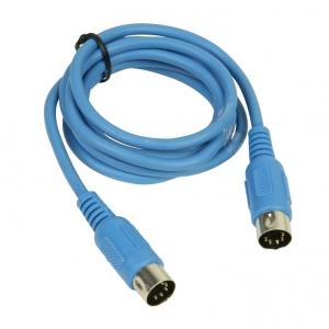 Adam Hall K3 MIDI 0150 BLU kabel MIDI 1,5m (niebieski)