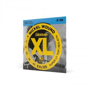 D′Addario EXL 125 struny do gitary elektrycznej 9-46