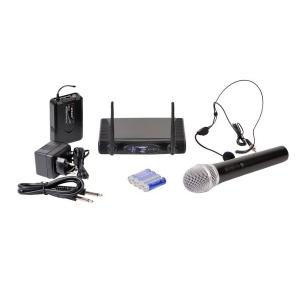 Karsect WR-9D/HT-15/PT-15 mikrofon bezprzewodowy podwójny,  (...)