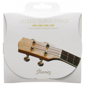 Ibanez IUKS 4 struny do ukulele black nylon, sopran, koncert