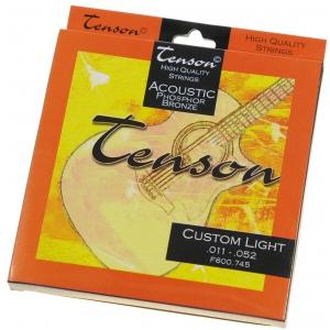 Tenson 600745 Phopsphor Bronze struny do gitary akustycznej 11-52