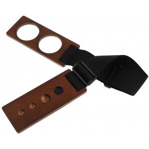 Gewa 415318 ochraniacz parkietu pod nóżkę wiolonczelową / kontrabasową - orzech włoski