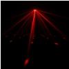 Cameo CLSUPERFLY XS - efekt świetlny 2w1: Derby i stroboskop, wraz z pilotem zdalnego sterowania na podczerwień