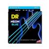 DR NBB-40 struny do gitary basowej neon niebieskie 45-105