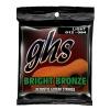 GHS Bright Bronze struny do gitary akustycznej, 80/20 Bronze, Light, .012-.054
