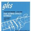 GHS Professional struny do banjo, 5-str. Loop End, Phosphor Bronze, Light, .011-.022