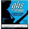 GHS Contact Core Super Steels struny do gitary basowej, 5-str. Light, .040-.125