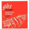GHS Professional struny do mandoliny, Loop End, Silk and Steel, Regular, .011-.040