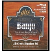 GHS J.D. Crowe Signature struny do banjo, 5-str. Stainless Steel, Studio, .0095-.020