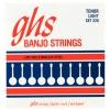 GHS Tenor struny do banjo tenorowego, 4-str. Loop End, Stainless Steel, Light, .009-.028