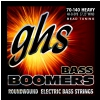 GHS Bass Boomers struny do gitary basowej 4-str. Heavy, .070-.140, BEAD Tuning