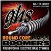 GHS Round Core Bass Boomers struny do gitary basowej, 4-str. Heavy, .050-.115