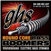 GHS Round Core Bass Boomers struny do gitary basowej, 6-str. Medium Light, .030-.126