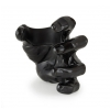 GuitarGrip Male Hand, Black Metallic uchwyt do gitary ścienny, lewy