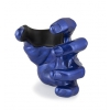 GuitarGrip Male Hand, Blue Metallic uchwyt do gitary ścienny, lewy