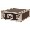 Rockcase RC 21404 B futerał Flight Case 19′′ do urządzeń typu rack, max gł. 43 cm, max wys. 19 cm